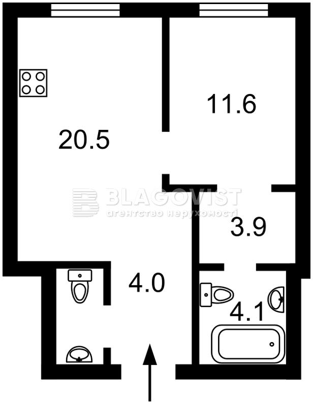 Квартира F-43148, Васильковская, 1/1, Киев - Фото 2