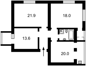 Квартира Заньковецкой, 5/2, Киев, Z-572982 - Фото2