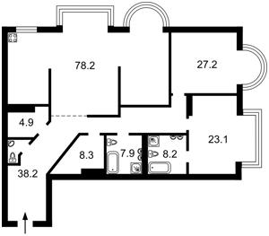 Квартира Институтская, 18а, Киев, D-36176 - Фото2