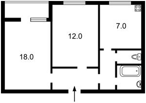 Квартира Котовского, 27, Киев, Z-559375 - Фото2
