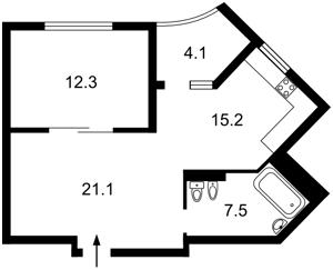 Квартира Вишгородська, 45б/4, Київ, R-33146 - Фото2