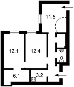 Квартира P-28074, Саксаганського, 125, Київ - Фото 4