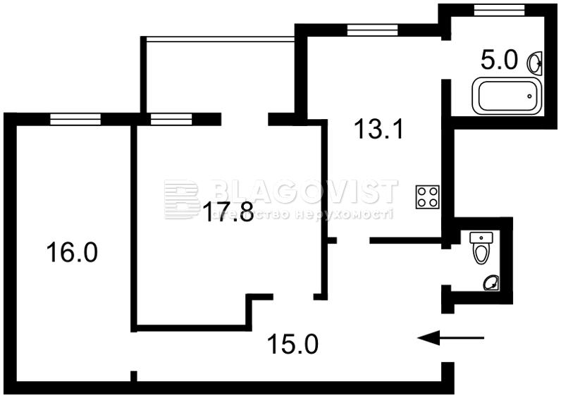 Квартира R-25647, Большая Васильковская, 81, Киев - Фото 2