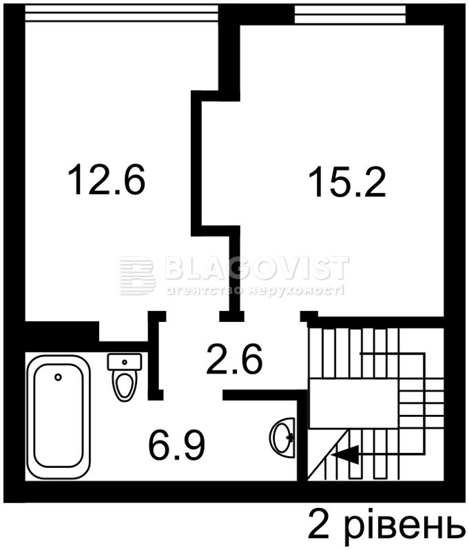 Квартира H-46936, Леси Украинки, 72, Вишневое (Киево-Святошинский) - Фото 4
