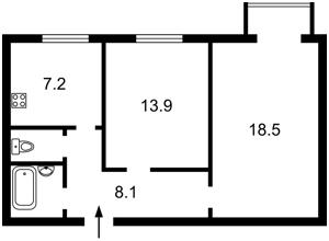Квартира Большая Васильковская, 134, Киев, E-39603 - Фото2