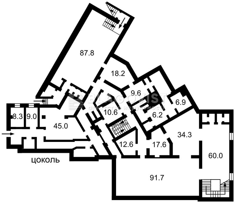 Нежилое помещение, Z-555981, Черновола Вячеслава, Киев - Фото 5