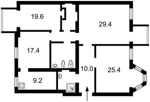 Квартира Сечевых Стрельцов (Артема), 40/1, Киев, R-33403 - Фото2