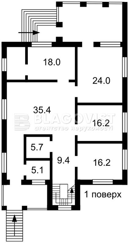 Дом E-39613, Петровское (Бориспольский) - Фото 4
