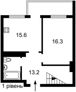 Квартира Ревуцького, 9, Київ, F-43317 - Фото 2
