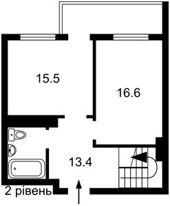 Квартира Ревуцького, 9, Київ, F-43317 - Фото 3