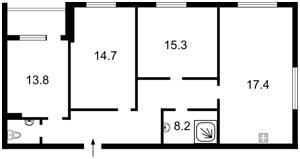 Квартира Глушкова Академіка просп., 9д, Київ, Z-361876 - Фото2
