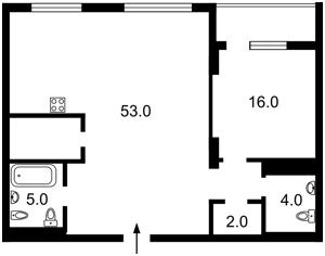 Квартира Гоголевская, 14, Киев, Z-629122 - Фото2