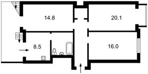 Квартира Героїв Сталінграду просп., 25, Київ, Z-667707 - Фото2