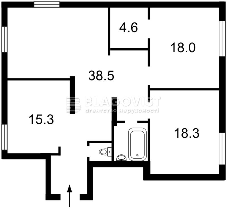 Квартира Z-579836, Осенняя, 33, Киев - Фото 6