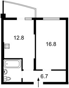 Квартира Радченко Петра, 27-29 корпус 2, Киев, H-47148 - Фото2