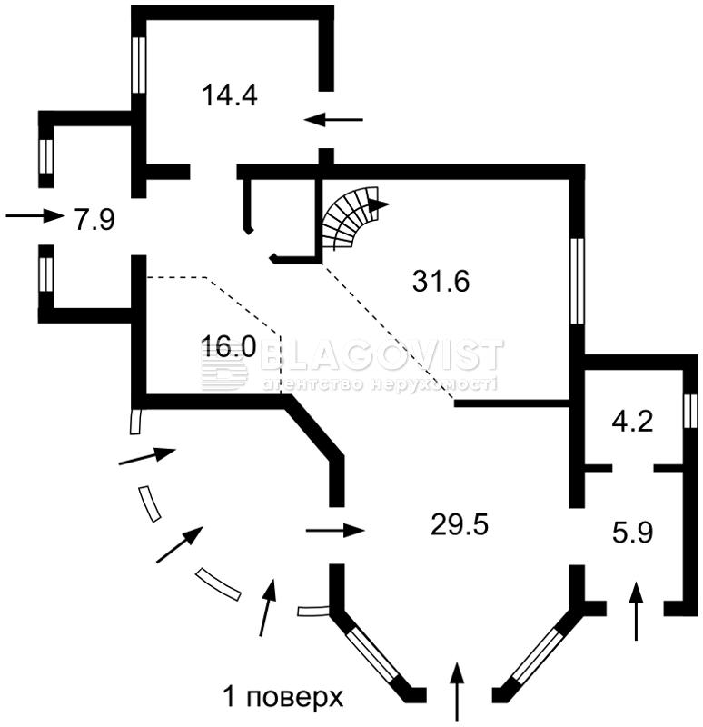Дом R-33601, Севериновка (Макаровский) - Фото 1