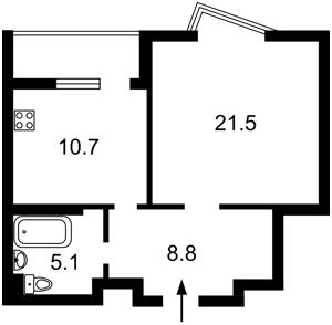 Apartment Drahomanova, 2б, Kyiv, R-33761 - Photo2
