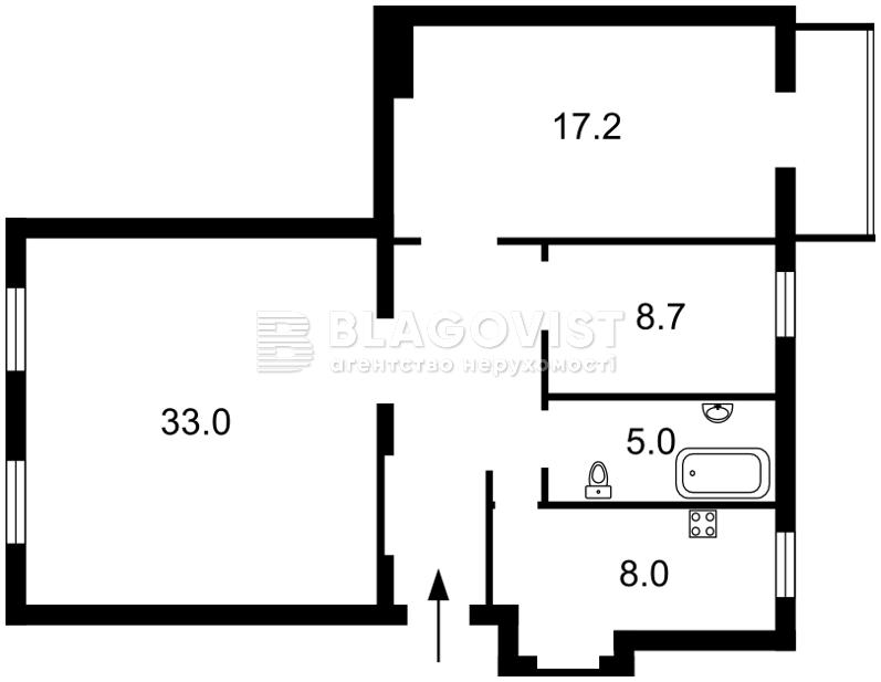 Квартира M-37523, Богомольца Академика, 6, Киев - Фото 3