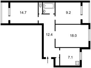 Квартира Ивашкевича Ярослава, 3, Киев, R-33782 - Фото2