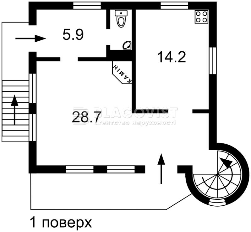 Дом R-33415, Малютянка - Фото 2