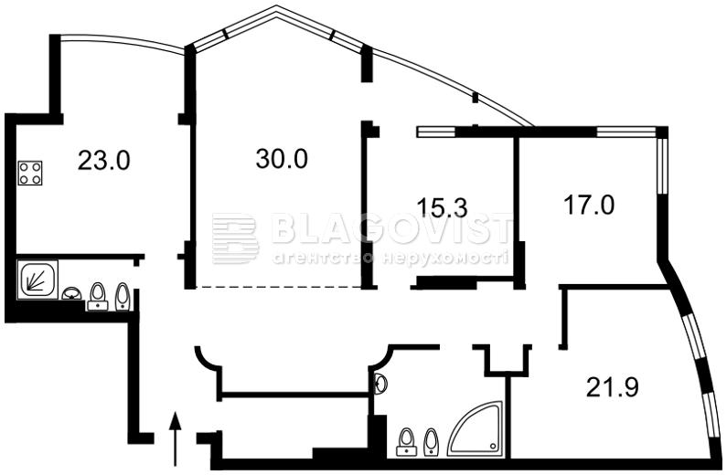 Квартира H-47320, Леси Украинки бульв., 30б, Киев - Фото 4