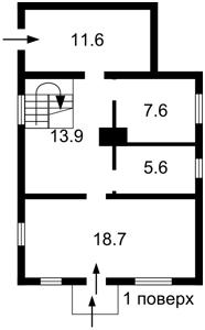 Дом Лесная, Хотяновка, C-107772 - Фото2