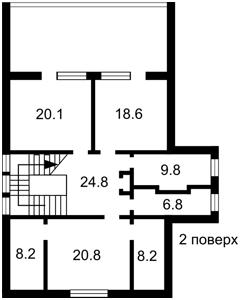 Будинок Шевченка, Колонщина, E-39754 - Фото 3