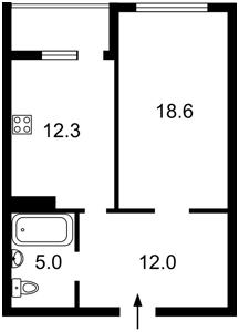 Квартира Патриарха Скрипника (Островского Николая), 40, Киев, X-26948 - Фото2