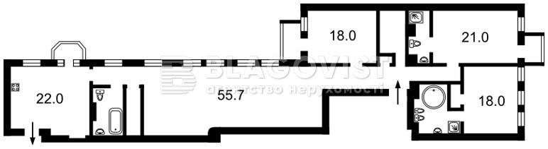 Офис, H-47373, Музейный пер., Киев - Фото 2