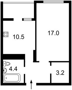 Квартира Воскресенская, 16г, Киев, E-39779 - Фото2