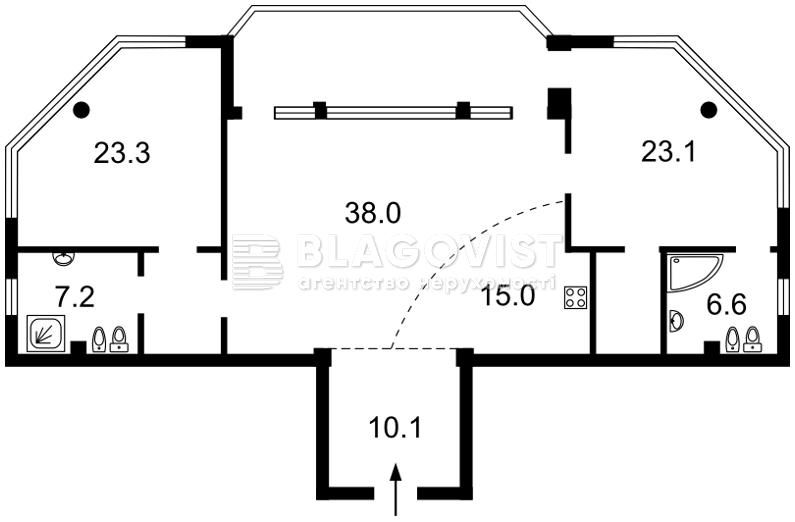 Квартира H-47098, Мічуріна, 19б, Київ - Фото 4