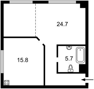 Квартира Луценка Дмитра, 10, Київ, Z-680022 - Фото2