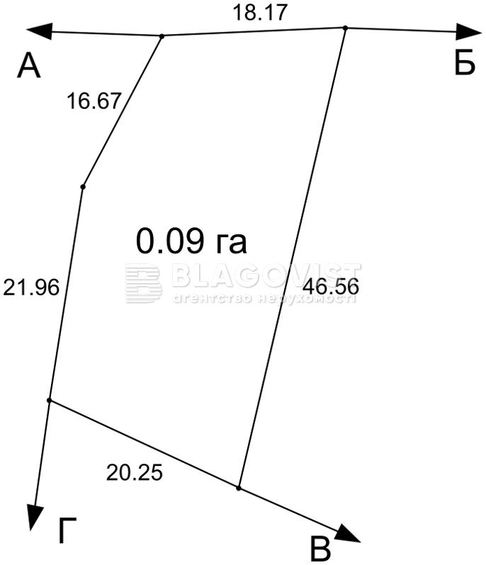 Земельный участок R-18624, Ватутина, Лесники (Киево-Святошинский) - Фото 5