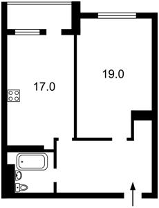 Квартира Чавдар Єлизавети, 11, Київ, X-13475 - Фото2