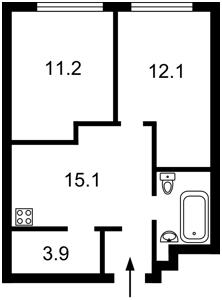 Apartment Zhylianska, 68, Kyiv, Z-680843 - Photo2