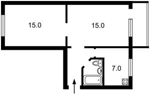 Квартира Перемоги просп., 98/2, Київ, Z-508120 - Фото2