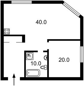 Apartment Dehtiarivska, 25а, Kyiv, F-43480 - Photo2