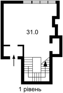 Нежитлове приміщення, Бульварно-Кудрявська (Воровського), Київ, R-34151 - Фото2