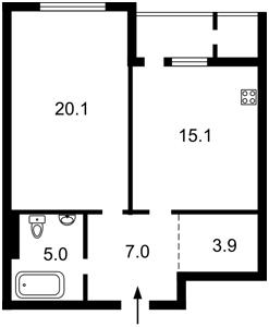 Квартира C-107845, Драгомирова Михаила, 69, Киев - Фото 3