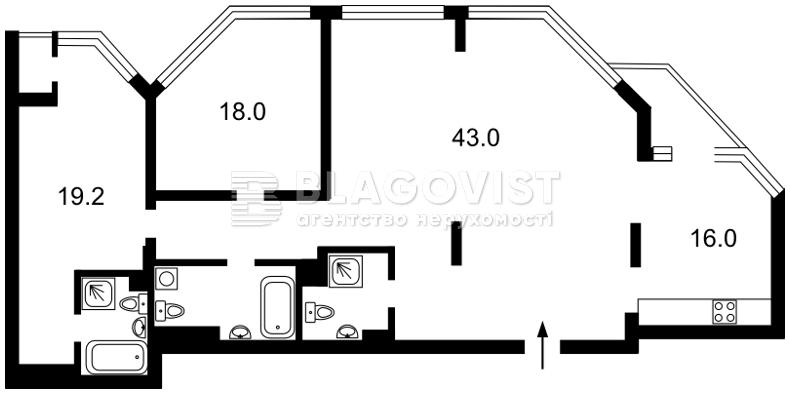 Квартира A-111337, Болсунівська (Струтинського Сергія), 2, Київ - Фото 5