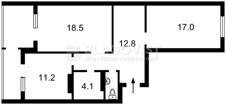 Нежилое помещение, H-47584, Малевича Казимира (Боженко), Киев - Фото 4