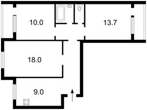 Квартира Драгоманова, 25, Київ, Z-684619 - Фото2
