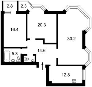 Квартира Коперника, 3, Киев, M-37648 - Фото2