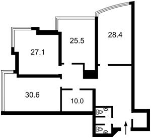 Квартира Кловский спуск, 7, Киев, P-28387 - Фото2
