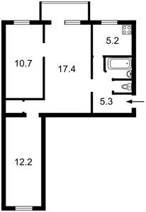 Квартира Победы просп., 104, Киев, Z-665906 - Фото2
