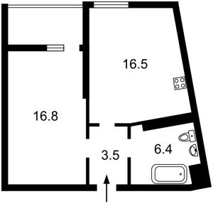 Квартира Глубочицкая, 43 корпус 3, Киев, R-33828 - Фото2