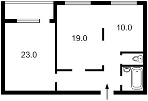 Квартира Дмитрівська, 56, Київ, Z-1868338 - Фото2