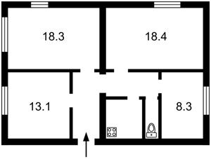 Квартира Лабораторний пров., 22, Київ, H-47668 - Фото2