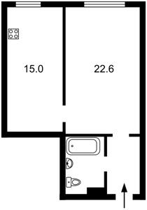 Apartment Lutsenka Dmytra, 12, Kyiv, Z-1870871 - Photo2
