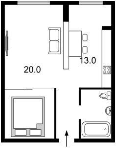 Apartment Moskovskyi lane, 2б, Kyiv, R-34290 - Photo2